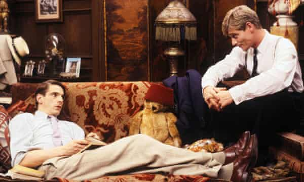 Jeremy Irons and Anthony Andrews in Brideshead Revisited.