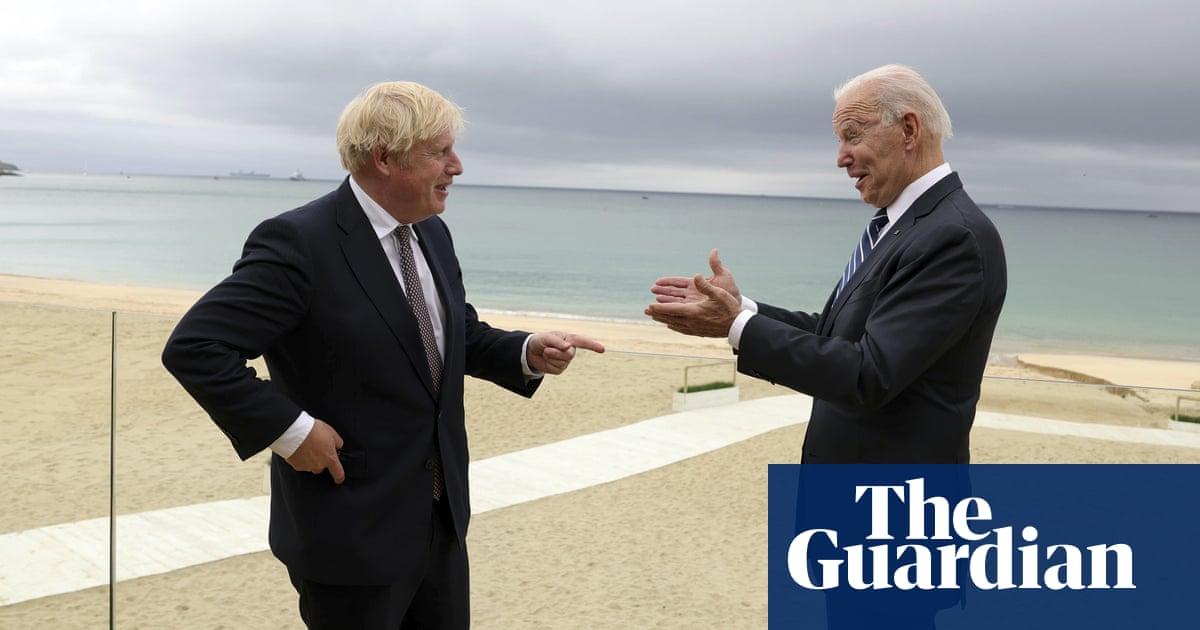 Joe Biden a 'breath of fresh air', says Boris Johnson after meeting – video