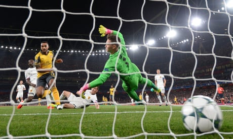 Theo Walcott at the double in comfortable Arsenal win against Basel