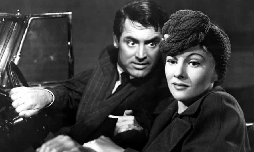 Cary Grant and Joan Fontaine in Suspicion.