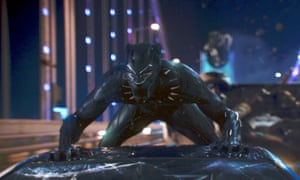 A whole genre reinvented … Black Panther.