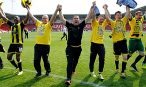Nigel Clough and his team