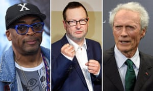 Spike Lee, Lars von Trier and Clint Eastwood.