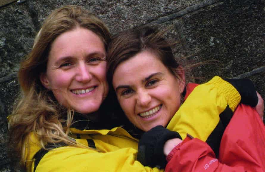 Kim Leadbeater and her sister, murdered MP Jo Cox, in 2009, on Cox's hen do in Haworth, West Yorkshire