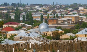 The central mosque of Derbent, Dagestan's second city.