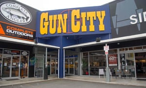 The Gun City store on the outskirts of Christchurch
