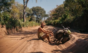 Charlie Walker, who spent four years cycling around the world