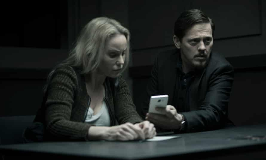 Sofia Helin and Thure Lindhardt in a scene from the new series of The Bridge.
