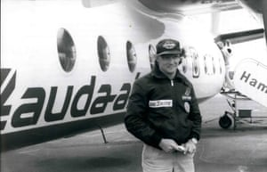 Lauda abruptly retired in 1979, having up the first of his aviation companies, Lauda Air.