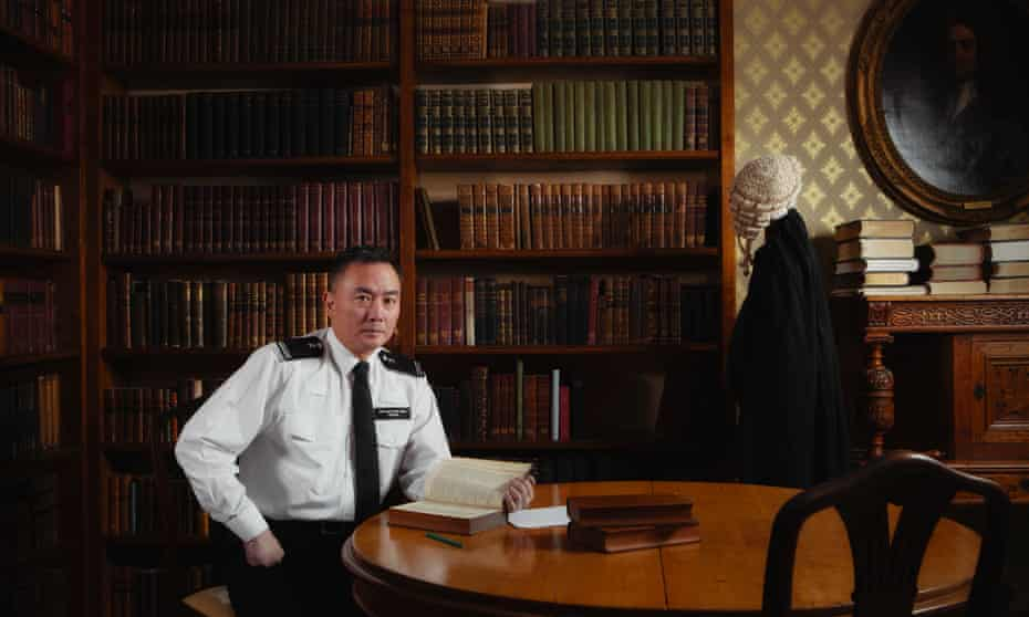 Special inspector Wong, a barrister who started policing in 2007
