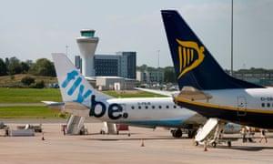 Aircraft at Birmingham airport