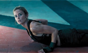 Emily Blunt in Edge of Tomorrow.