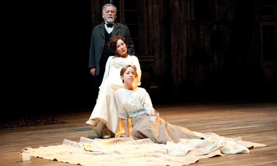 With Kenneth Cranham and Claudie Blakley in The Cherry Orchard at the National Theatre.