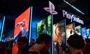 PlayStation shows off its exclusive titles at the E3 video games event in Los Angeles.