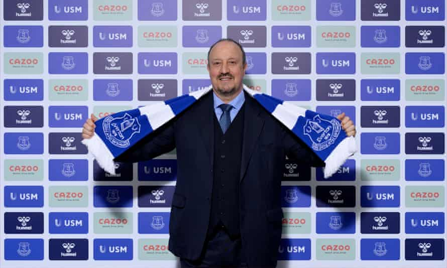 Delighted to be joining': Everton confirm Rafael Benítez as new manager |  Everton | The Guardian
