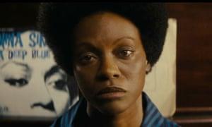 "Zoe Saldana as Nina Simone in the film ""Nina"""