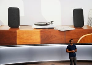 Google's Chandra speaks about the Google Home Max speaker.