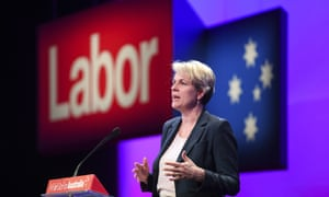 Tanya Plibersek at the Labor party national conference in Adelaide