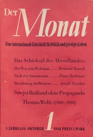 German journal Der Monat (1948–1987)