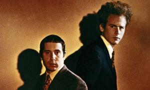 Paul Simon and Art Garfunkel.