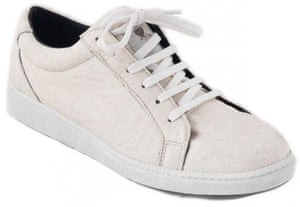 Step into something eco-friendly  white sneakers that don t cost the ... 458218fdb