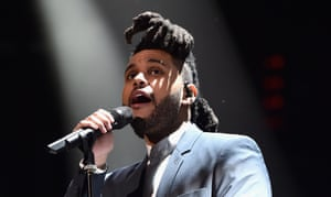 The Weeknd: another strong contender.