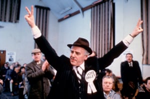 As Daley in The Balance of Power, a Minder episode from 1984.
