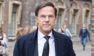 Mark Rutte, the Dutch prime minister.