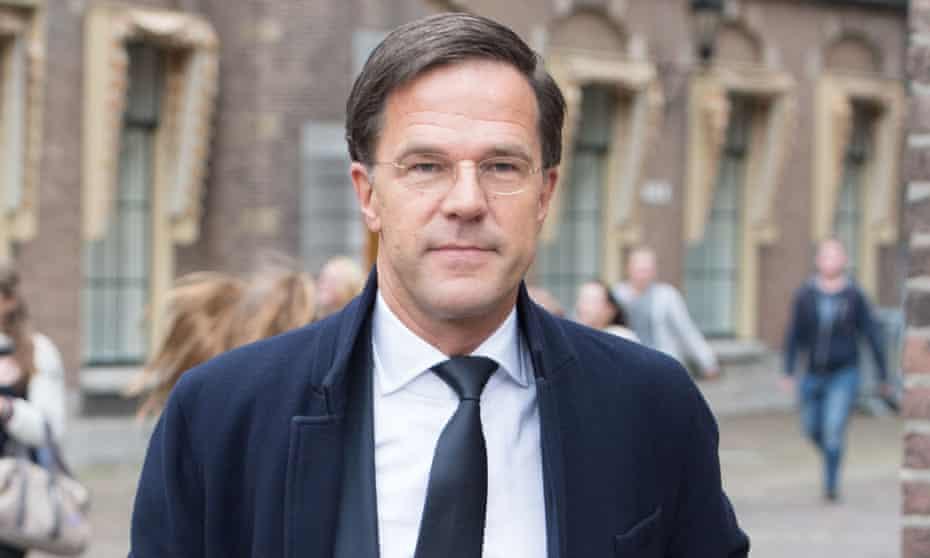 Mark Rutte, the Dutch prime minister.