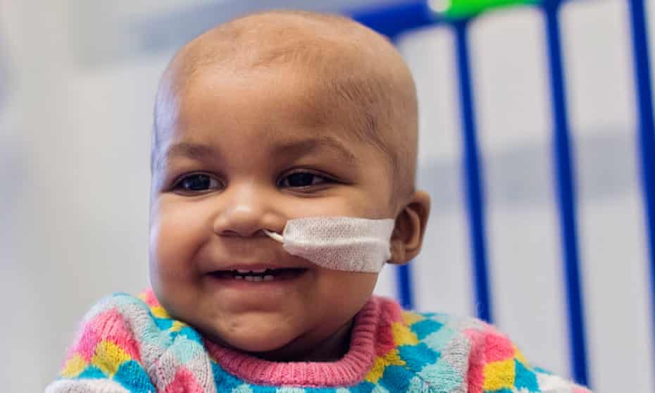 """Layla Richards, whose aggressive form of <a href=""""http://www.nhs.uk/conditions/leukaemia-acute-lymphoblastic/Pages/Introduction.aspx"""">leukaemia</a> was treated with genetically engineered immune cells."""