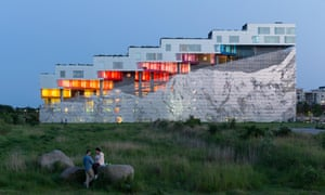 Copenhagen's Mountain apartments by Bjarke Ingels Group, who will design the 2016 Serpentine Pavilion.
