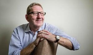 Len McCluskey in his office