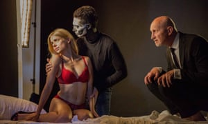Fatal attraction … from left, Yvi Mai as Gretchen, Martin Hancock as Faust and Glyn Dilley as Mephistopheles.
