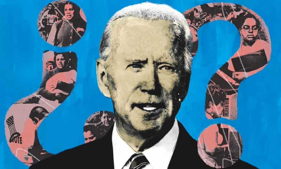 Many young Latinos are concerned that Biden does not share their progressive politics.