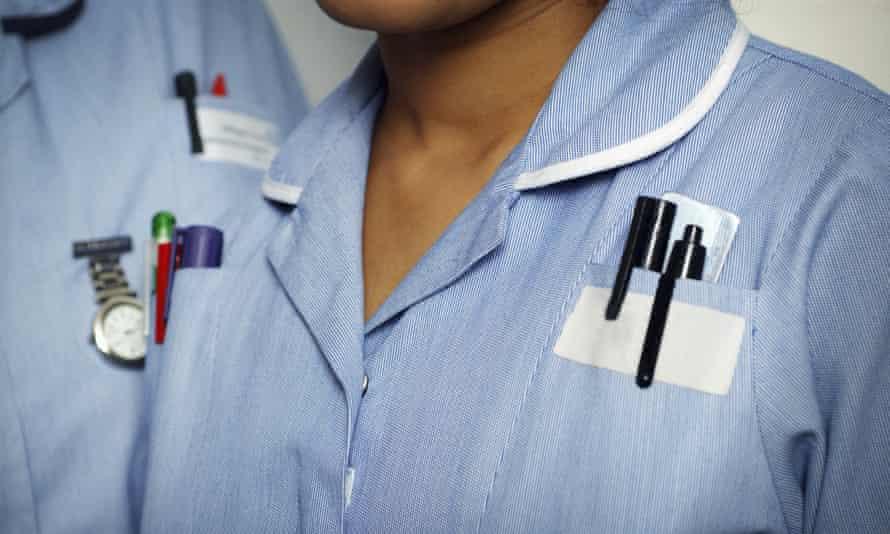 Two NHS nurses