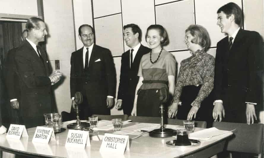Vivienne Barton meeting the Duke of Edinburgh at the BBC