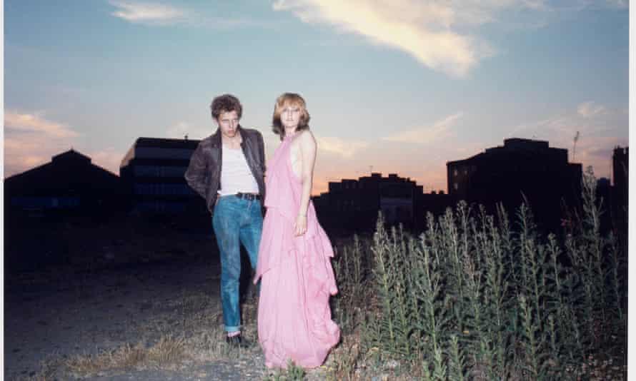 A 1976 photoshoot by Jane Ashley, featuring Paul Simonon and Viv Albertine