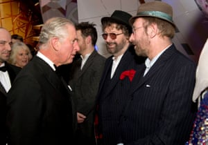 With the Prince of Wales