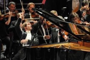 Nikolai Lugansky performs Rachmaninov's Piano Concerto No 2 with the St Petersburg Philharmonic Orchestra at the Proms.