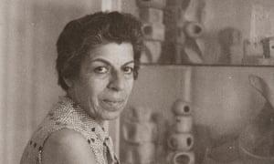 Saloua Raouda Choucair in the mid-1970s.
