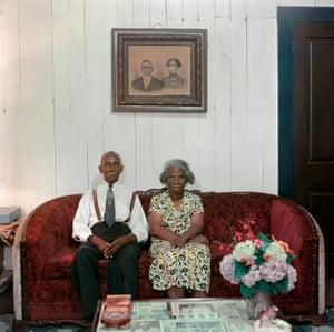 Mr and Mrs Albert Thornton, Mobile, Alabama, 1956