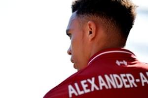 Trent Alexander-Arnold of Liverpool.