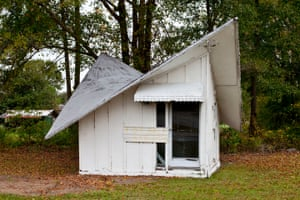 Winged- roof mystery shed, Florence County, S.C. 2015