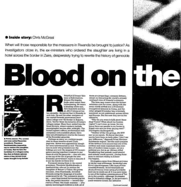 The Guardian, 3 December 1994.