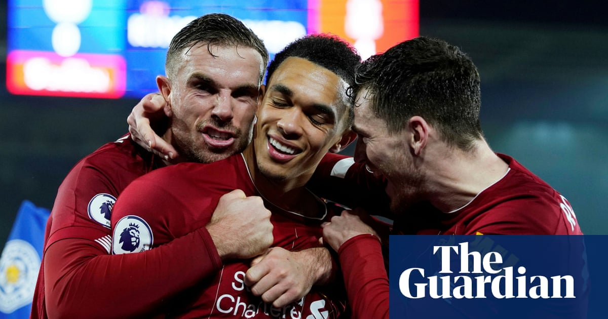 Alexander-Arnold the unexpected playmaker in Liverpool's red machine | Barney Ronay