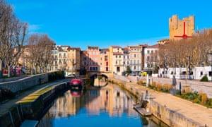 Narbonne's Canal de la Robine.