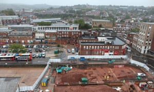 Exeter site containing Roman fort remains
