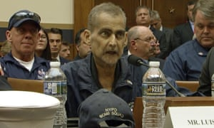 An image taken from video shows Luis Alvarez during a hearing by the House judiciary committee.