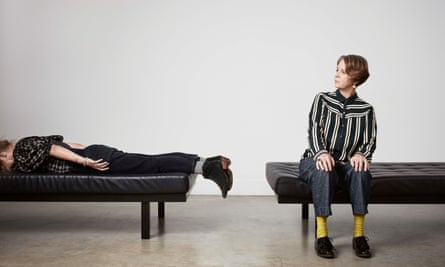Julia Davis and Vicki Pepperdine