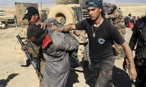 Iraqi special forces arrest an Isis suspect as they continued their advance through Mosul. Attention is now turning to the future of northern Iraq, with the Kurds pushing for self-rule following the loss of some 1,700 peshmerga in battle.
